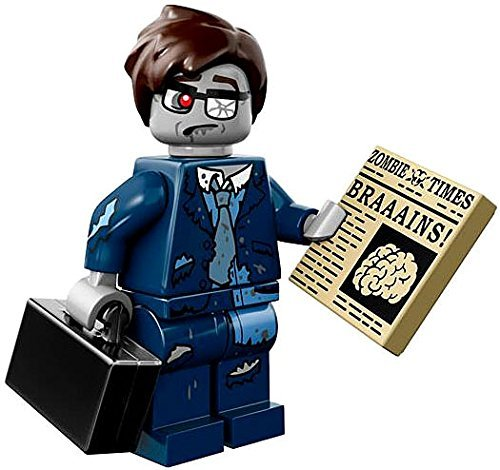 LEGO Series 14 Minifigure Zombie Businessman -