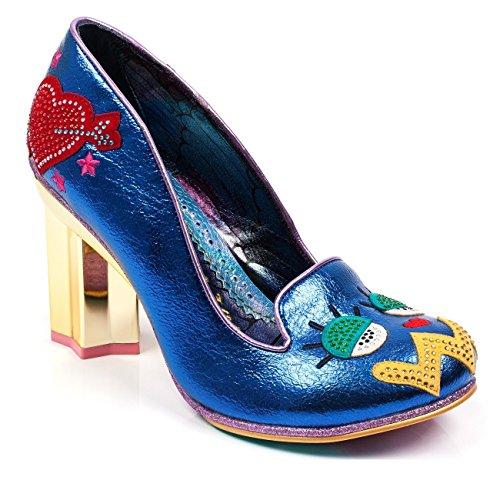 Irregular Choice 'Tip Toe' Star Heel Pump, Blue, ()