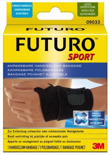 FUTURO FUT09033 Sport Handgelenk-Bandage, beidseitig tragbar, Einheitsgröße