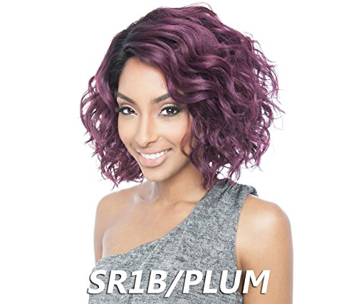 ISIS BROWN SUGAR Human Blended Full Wig - BS120 (SR1B/PLUM)