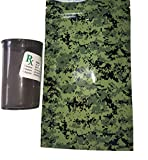 Smell Proof Bags Locks in Odors GUARANTEED! 10 Count Bags 4'' x 6.5'' Sergeant Bud Woodland Camo