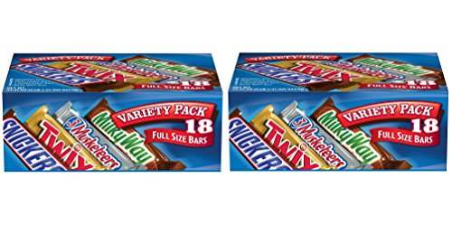 MARS Chocolate dKuZfJ Singles Size Candy Bars Variety Pack,