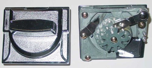 Replacement 25 Cent Coin Mechanism Part for Imported Gumball & Candy Vending Machines
