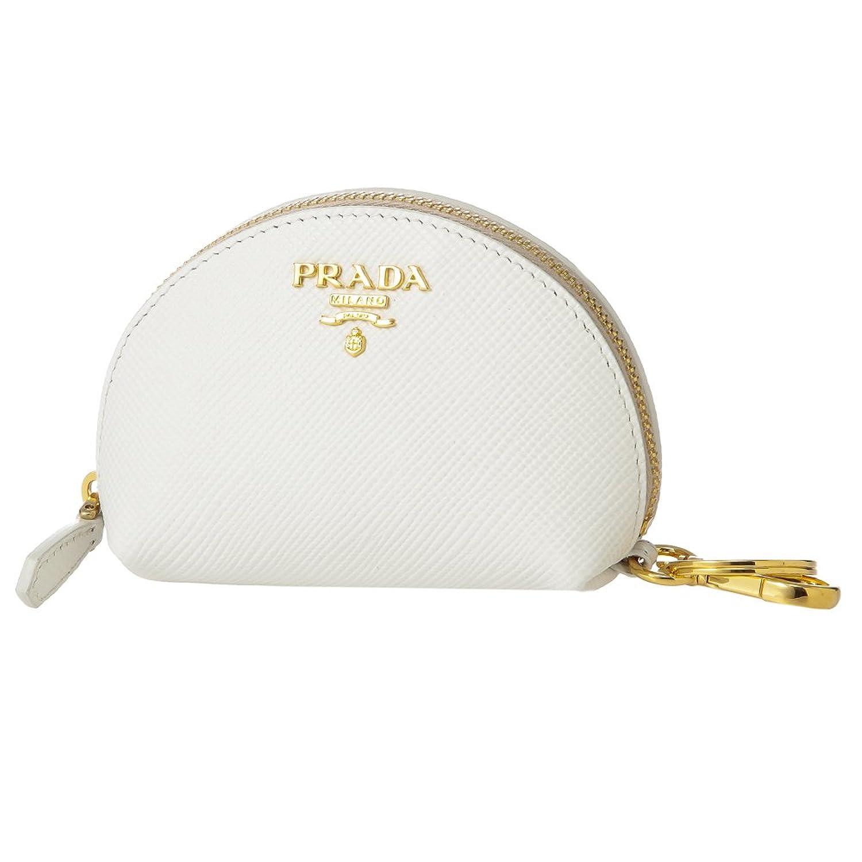 プラダ(PRADA) コインケース 1MM218 2A4A F0009 サフィアーノキュイール ホワイト 白 [並行輸入品] B071RNN9PN
