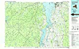 YellowMaps Lake Champlain South NY topo map, 1:100000 Scale, 30 X 60 Minute, Historical, 1986, Updated 1986, 24.1 x 39.1 in