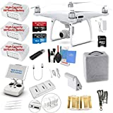 #7: DJI Phantom 4 PRO Drone Quadcopter Bundle Kit with 3 Batteries, 4K Professional Camera Gimbal and MUST HAVE Accessories