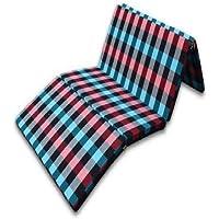 SATCAP INDIA™ Single Mattress/ 3-Fold Folding Mattress/Travel Mattress/ 2 Inches Epe Foam Foldable Mattresses (72 X 35 X 2 Inch)
