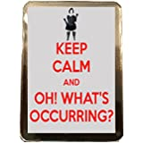 Gavin and Stacey - Keep Calm Fridge Magnet (What's Occurring)