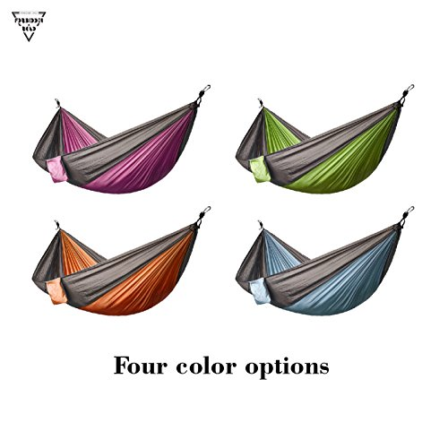 Forbidden-Road-Hammock-Single-Double-Camping-Portable-Parachute-Hammock-For-Outdoor-Hiking-Travel-Backpacking-210D-Nylon-Taffeta-Hammock-Swing-Support-400lbs-Ropes-Carabiners-Included-4-Colors