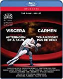 Carmen - Viscera - Afternoon of a Faun - Tchaikovsky pas de deux [Blu-ray]