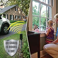 Mighty Mule Reliable and Supreme Accuracy Wireless Home Driveway Sensor Alarm Systems with 2 Base Stations