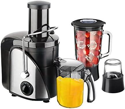 The Deluxe Line | 3 in1 Licuadora profesional | Molinillo | Licuadora – Robot de cocina – Exprime frutas enteras | Smoothie | 1000 W: Amazon.es: Hogar