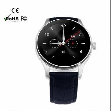 SmartWatch Bluetooth reloj Intelligent con Soporta Llamada Mensaje Monitor de Sueño y Calorías Monitor de Dormir