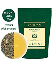 Foglie Di Tè Verde Da Himalayan, 100g (50 tazze) | Il Thè Verde Disintossicante Per perdere peso | Ricco di antiossidanti | the in foglie | tisane| Green Tea dall'India