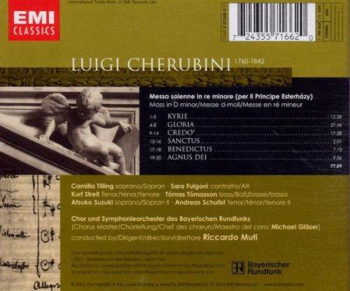 Cherubini - Messa solenne per il Principe Esterházy / Tilling · Fulgoni · Streit · Tómasson · Bayerischen Rundfunks · Muti by EMI Classics