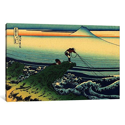 iCanvasART 3-Piece Kajikazawa in Kai Province Canvas Print by Katsushika Hokusai