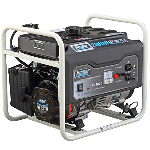 Pulsar PG2000 2000W Peak 1400W Rated Portable Gas-Powered...