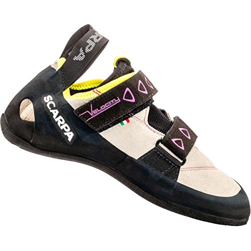 Scarpa Velocity W Zapatos de escalada gray-yellow
