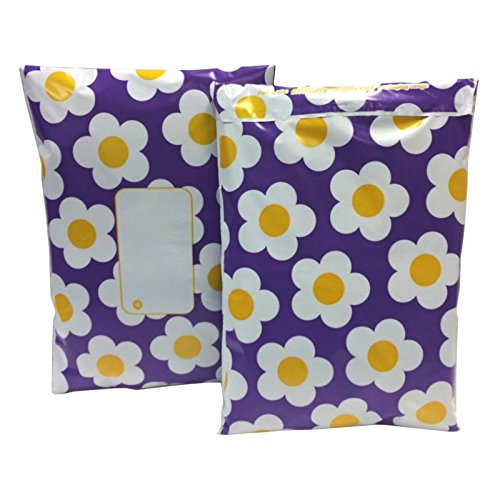 - Daisy Purple 10 x 14 250mm x 350mm 50 micron Pack of 10 200g