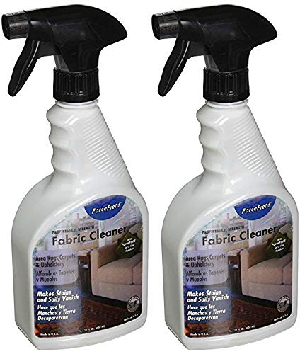 ForceField - Fabric Cleaner - Remove, Protect, and Deep Clean - 22oz (2 Pack)
