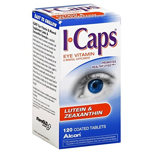 Alcon I-Caps Lutein & Zeaxanthin, Tablets - 120 count bottle by -