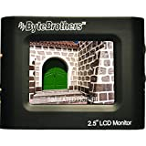 ByteBrothers 2.5 Mini Color Monitor, LCD 480x234 pixel, Rechargeable