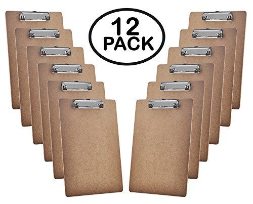 Acrimet Clipboard Profile Hardboard 12 pack