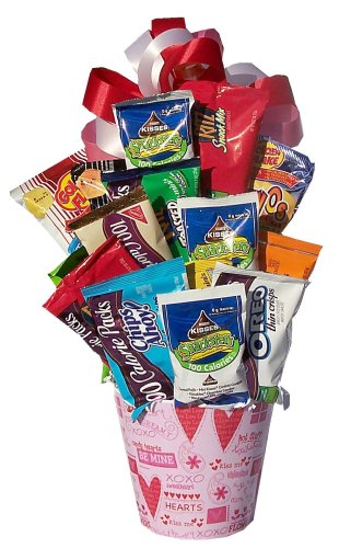 Dieters Gift Basket for Valentine's Day