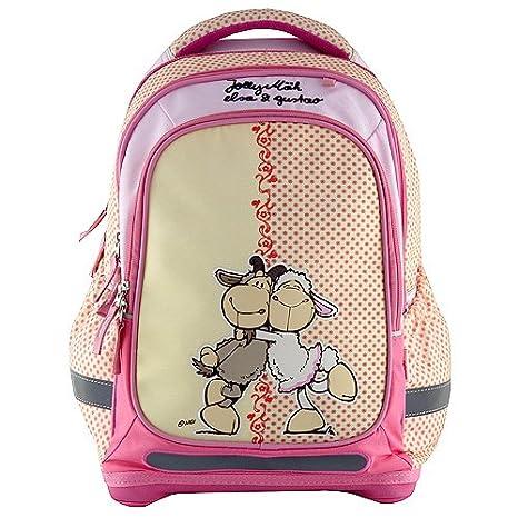 Target NICI Backpack Mochila Escolar, 48 cm, (Yellow/Pink)