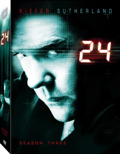DVD : 24: Season Three (, Dolby, Repackaged, Widescreen, Dubbed)