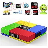 SUSAY T95K Pro mini pc Android 7.1 Amlogic S912 2GB/16GB Octa Core 4K 1080P 3D Dual WiFi 2.4G/5G BT 4.0 mini pc