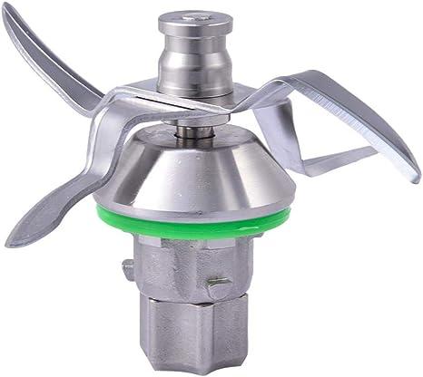 Edelstahl Ersatzklinge 4 Blatt Umweltschutz Kompatibel Für Vorwerk Thermomix Tm5