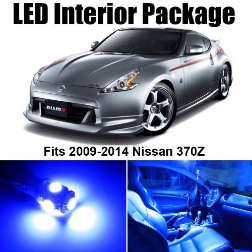 Classy Autos Nissan 370Z BLUE Interior LED Package (5 Pieces)