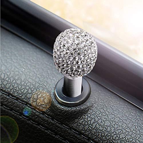 - Fastener & Clip New Cross-Border GM Door Lift Bolts-Encrusted Aluminum Alloy car Door Locks car Interior Modification Accessories - (Color Name: White)