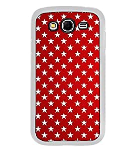Fuson Designer Back Case Cover for Samsung Galaxy Grand 2 :: Samsung Galaxy Grand 2 G7105 :: Samsung Galaxy Grand 2 G7102 :: Samsung Galaxy Grand Ii (line strips stars rangoli art)