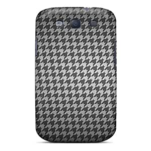 For Hounds Tooth Protective Case Cover Skin/galaxy S3 Case Cover