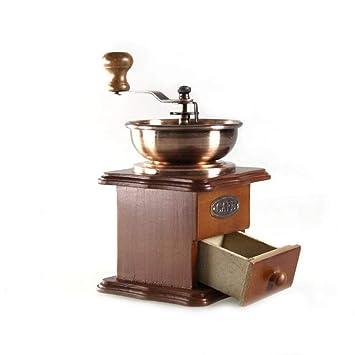 Cafetera Espresso Manual Máquina De Café Retro Núcleo De Molienda De Cerámica Para Hogar Oficina Regalo