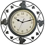 AcuRite Chaney 46033 Falling Leaves Wire Clock