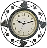 Chaney 46033 Falling Leaves Wire Clock