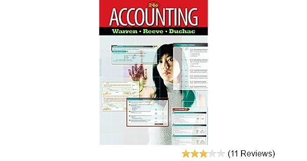 Accounting By Carl S Warren 2011 01 01 Carl S Warren