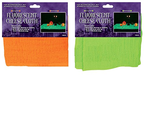 Fluorescent Cheese Cloth Assorted