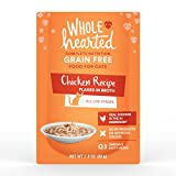 Cheap WholeHearted Grain Free Chicken Recipe Flaked in Broth Wet Cat Food, 2.8 oz, Case of 12, 12 X 2.8 OZ