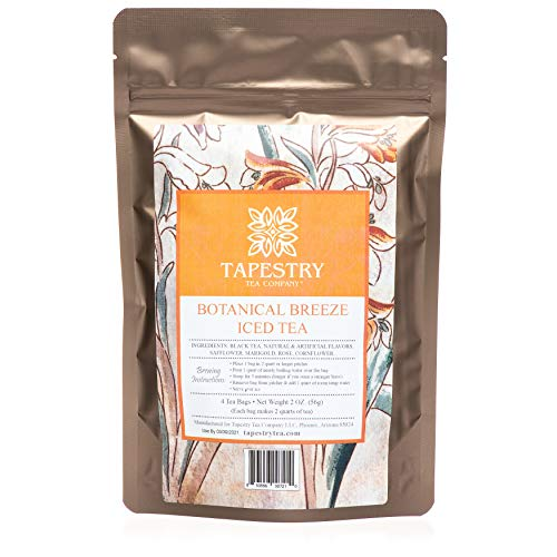 Tapestry Tea Company - Botanical Breeze Passion Fruit Black Iced Tea Blend