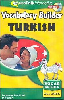 Vocabulary Builder - Turkish. CD-ROM: Learn Turkish