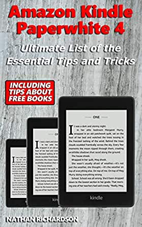 Amazon Kindle Paperwhite 4 - Ultimate List of the Essential Tips ...