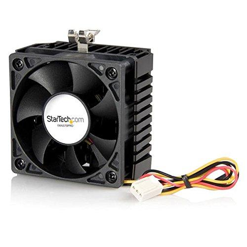 StarTech.com 65x60x45mm Socket 7/370 CPU Cooler Fan with Heatsink TX3 Connector CPU Cooler FAN370PRO (Black)