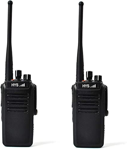 HYS TC-WP10W Long Range Walkie Talkies UHF 400-480MHz IP67 Professional Waterproof Dustproof 2 Way Radio