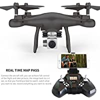 YiDing RC Quadcopter with HD Camera and WIFI Real-Time Transmission Drone Mould Toys as Gifts
