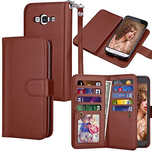 48090179ff 50% DE RÉDUCTION Galaxy J3 Portefeuille Coque pour Femme/Homme, Eutekcoo  Coque avec