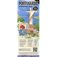 PORTUGUESE a language map: Quick reference phrase guide for beginning and advanced use. Words and phrases in English…